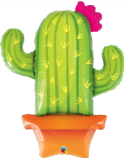 Cactus Super Shape Foil Balloon